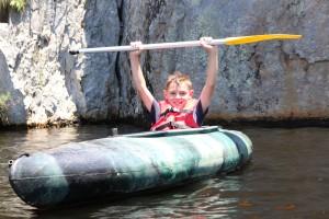 Kayaking Shoalhaven River 4