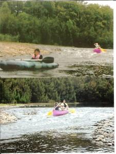 Kayaking Shoalhaven River 3